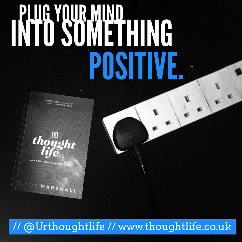 Thought Life Daily Devotional - plug your mind into something positive