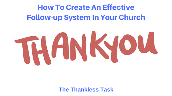 Follow-up Thankless Task