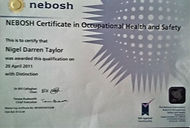 nebosh health and safety
