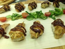 jerk chicken canape