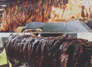 Hog roast 26/5/19 Abberton and Langenhoe Cricket Club Family Day