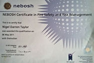 nebosh fire safety