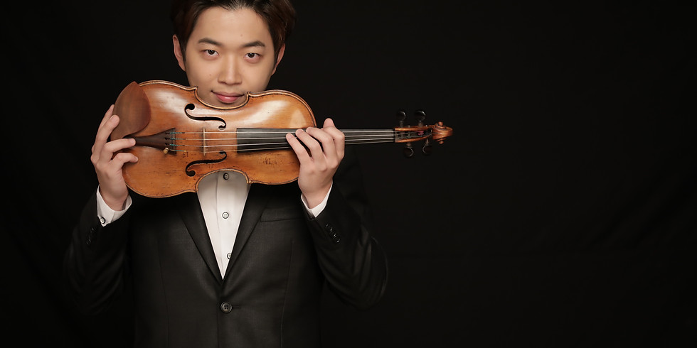William plays Brahms Violin Concerto