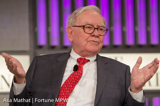 "Buffett: Float, Not Climate Change or Catastrophes Are Berkshire's Reinsurance ""Worries"""