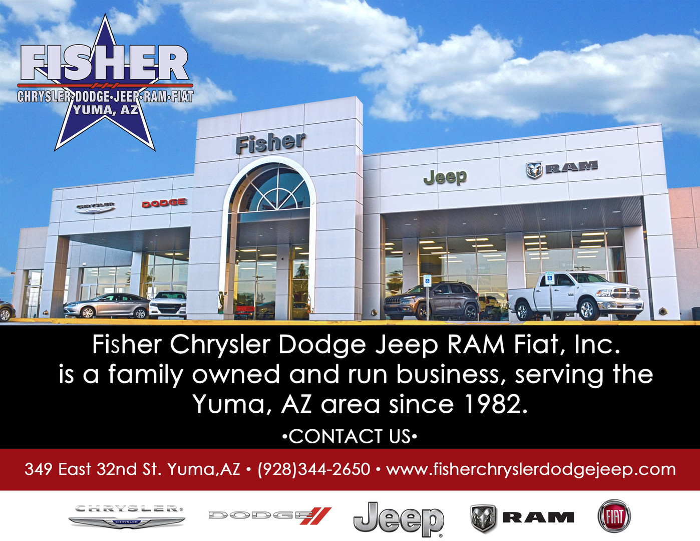 Fisher Chrysler Dodge Jeep Ram Fiat