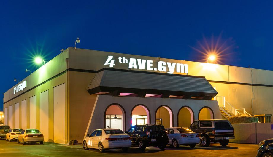 Current 4th Avenue Gym Location