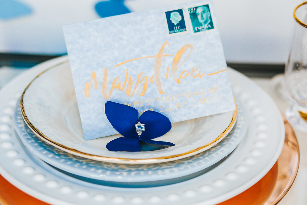 Butterfly Wedding RSVP Envelope