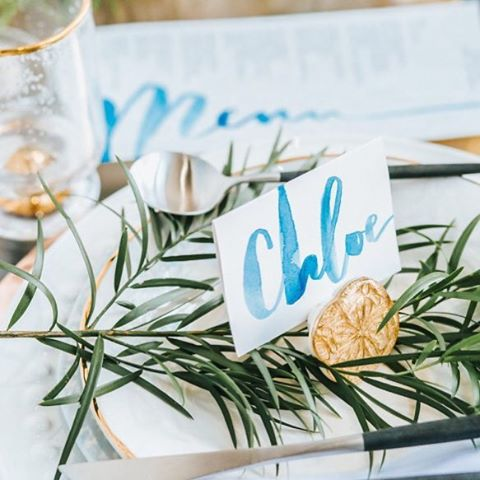 Butterfly Wedding Escort Cards