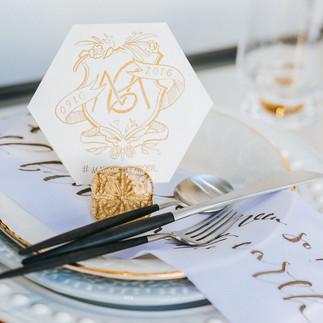 Custom Design Wedding Monogram