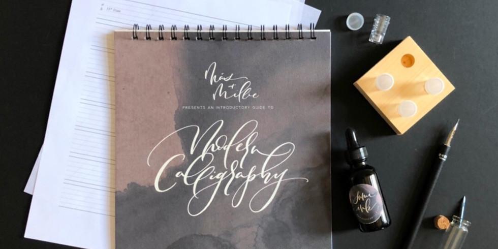 Modern Calligraphy for Beginners Virtual Workshop