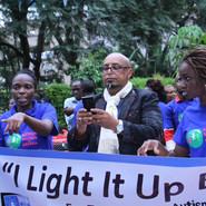 I light it up Blue Autism Awareness Participants