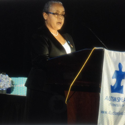 H.E. Margaret Kenyatta _Autism Speaks Speech