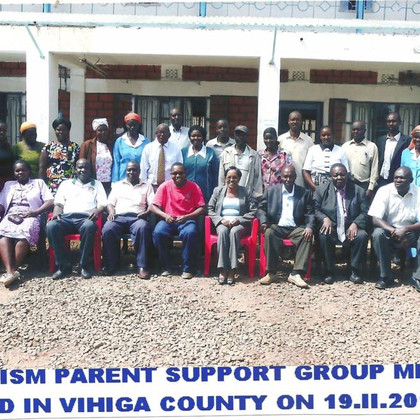 Autism Parent Support Group Vihiga Count