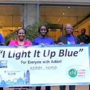 Autism Awareness Light  Autism Awareness - Office Team