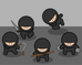 Battling Baby Ninjas