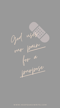 Pain for purpose