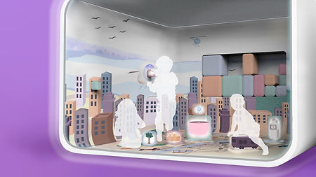 Haptic Playroom, project in collaboration with Airbus