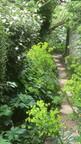 Couloir d'entrée du jardin