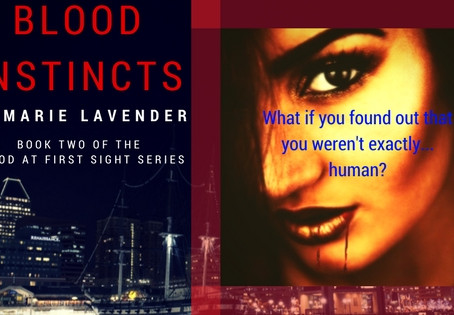 Book Spotlight: Blood Instincts by Marie Lavender
