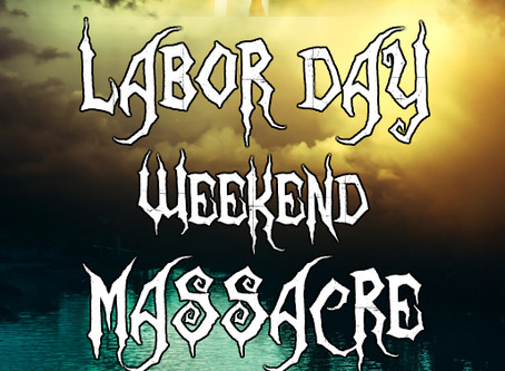Cover Reveal: Labor Day Weekend Massacre