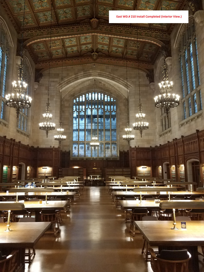 U. of M. Cook Law Library East Window #2