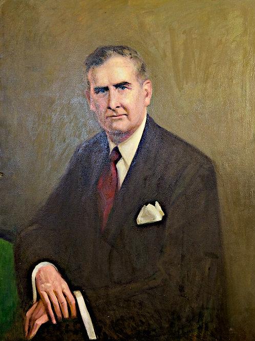 Portrait of a man sitting # 4