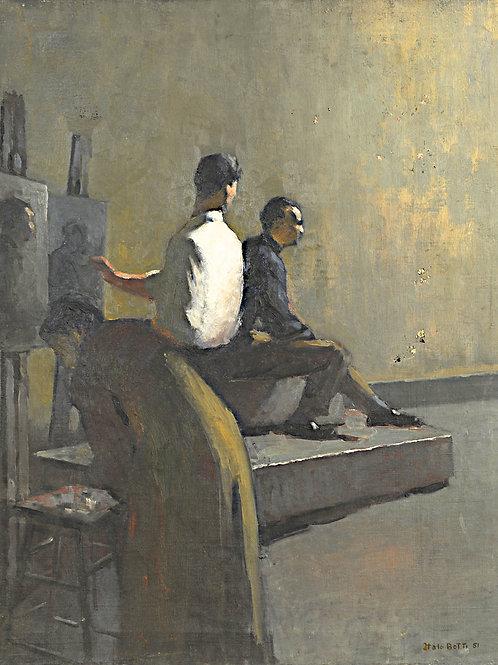 Portrait of Painting Study