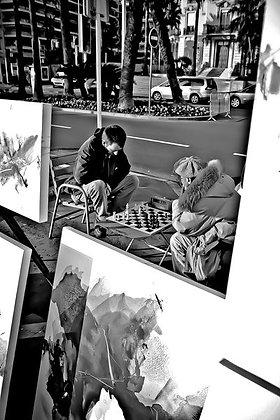 Tha art of chess! - La Croisette Cannes