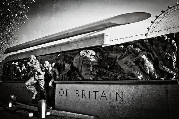Battle of Britain WW2 war memoria l- Embankment