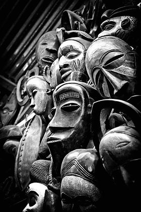 African face masks - Nairobi Kenya