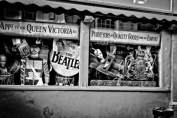 Beatles memorabilia - Curios Emporium Portobello