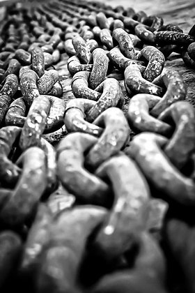 Anchor chains - Selsey harbour