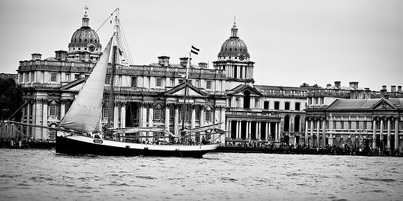 Tall Ship - Old Royal Naval College - Greenwich