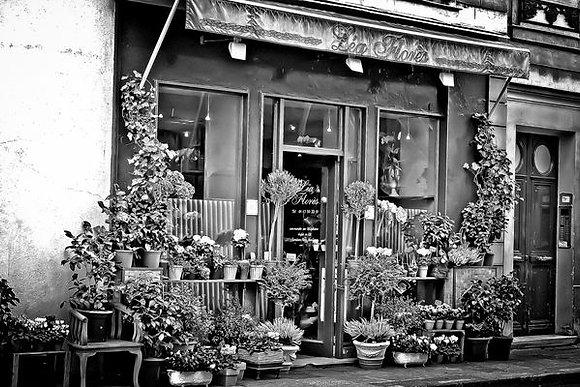 Beautiful Parisian florist