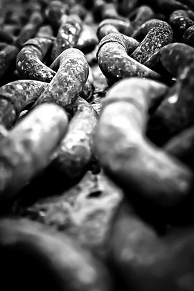 Anchor chains 2 - Selsey Harbour