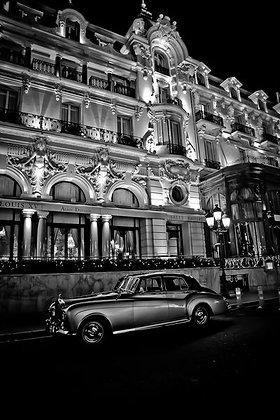Luxury vintage cars - Silver Shadow Rolls - Monaco