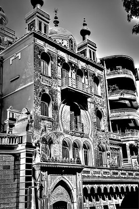 Amazing Moorish architecture - 'surburb' de Monaco