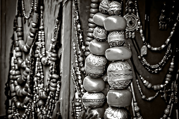 Morrocan jewellery - Marrakech