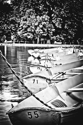 Old rowing boats (2) - Lac du Bois de Bologne