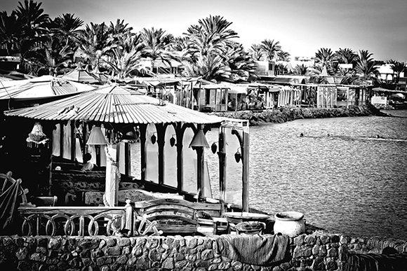 Sunset - Portside - Dahab Harbour Egypt