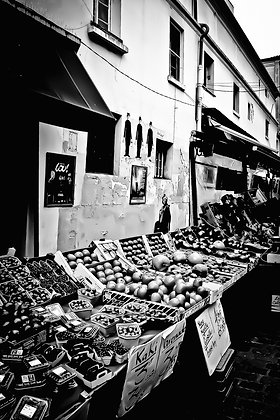 3 Charlies - fruit & veg stall backstreets