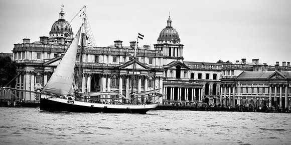 Tall ship - River Thames Greenwich