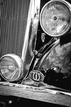 Vintage Wolseley - British car show - Bromley UK