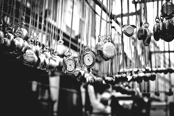 Vintage pocket watches - Portobello Rd Mkt