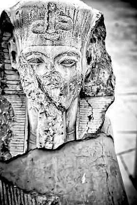 Egyptian pharoah - Karnak Temple Luxor