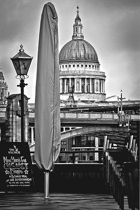 St Paul's - across the river