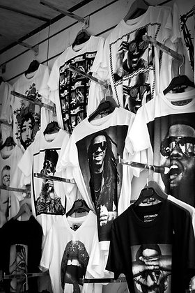 Hiphop T shirts - Les Puces Flea Mkt- Paris