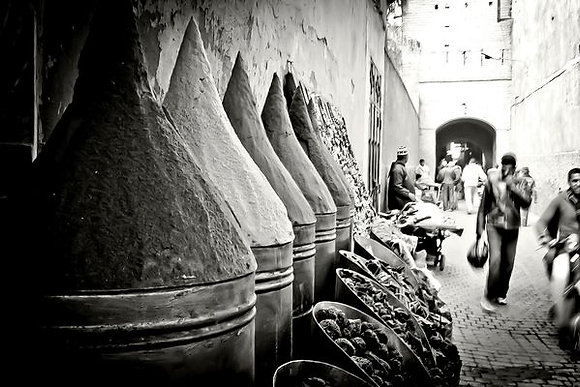 Herbs & spices - Marrakech