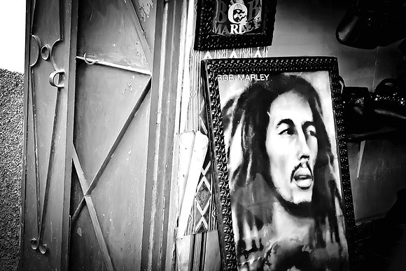 Bob (Marley) - backsteets of Marrakech