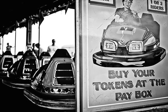 OMG! Dodgems! - on the Common